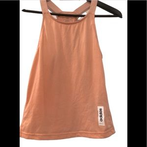 Adidas climalite racer back pink active tank